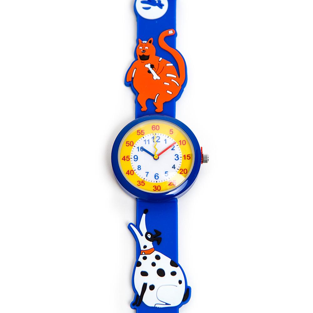 שעון-יד לילדים – כלב וחתול