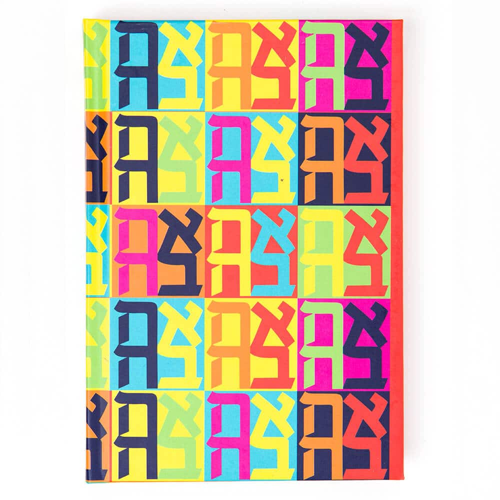 A6 Colorful Love Notebook