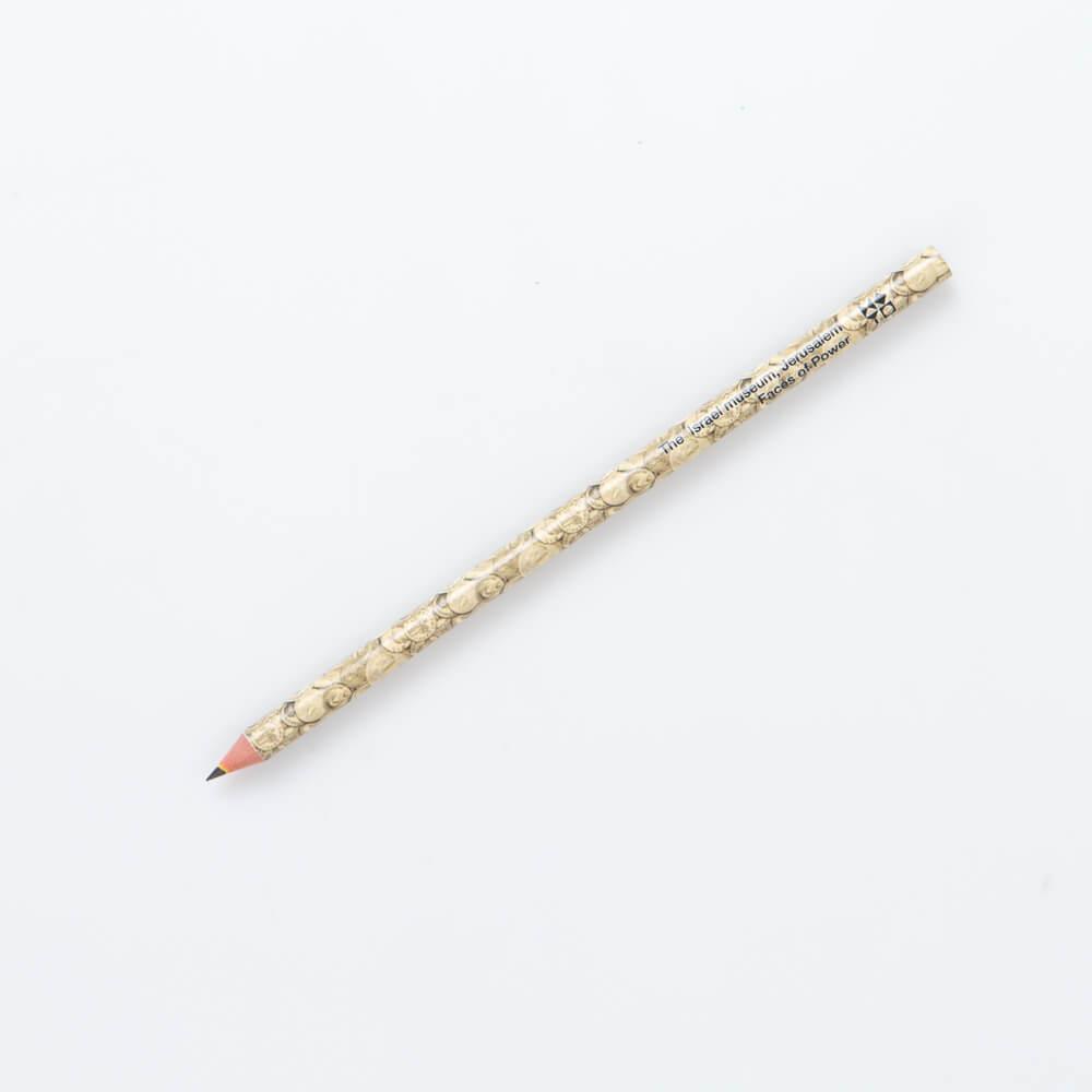 עיפרון בעיטור מטבעות זהב רומיים