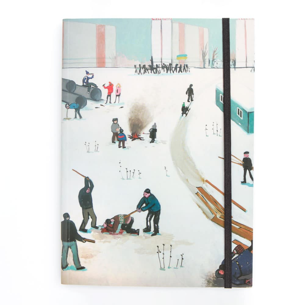 A5 Zoya Notebook - Diptych