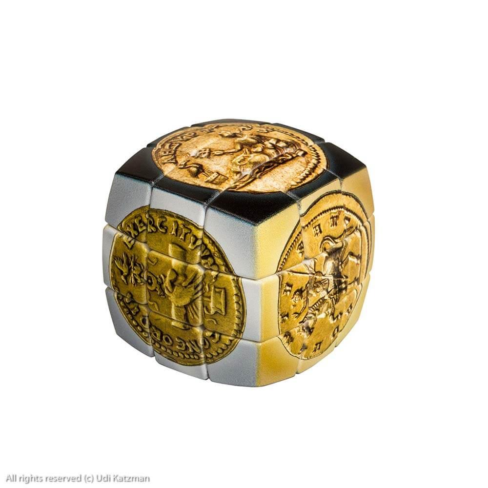 קוביית משחק (הונגרית) מטבעות רומיים