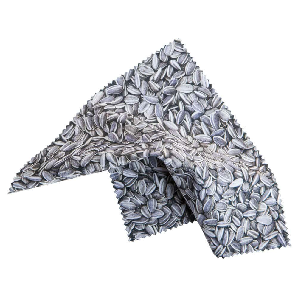 """14.5 X 14.5 Ai Weiwei """"Sunflowers Seeds"""" Microfiber Clot"""