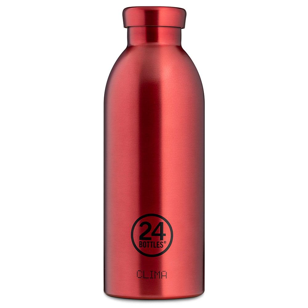 "®24bottles בקבוק ""קלימה"" תרמי 500 מ""ל – אדום קיאנטי"