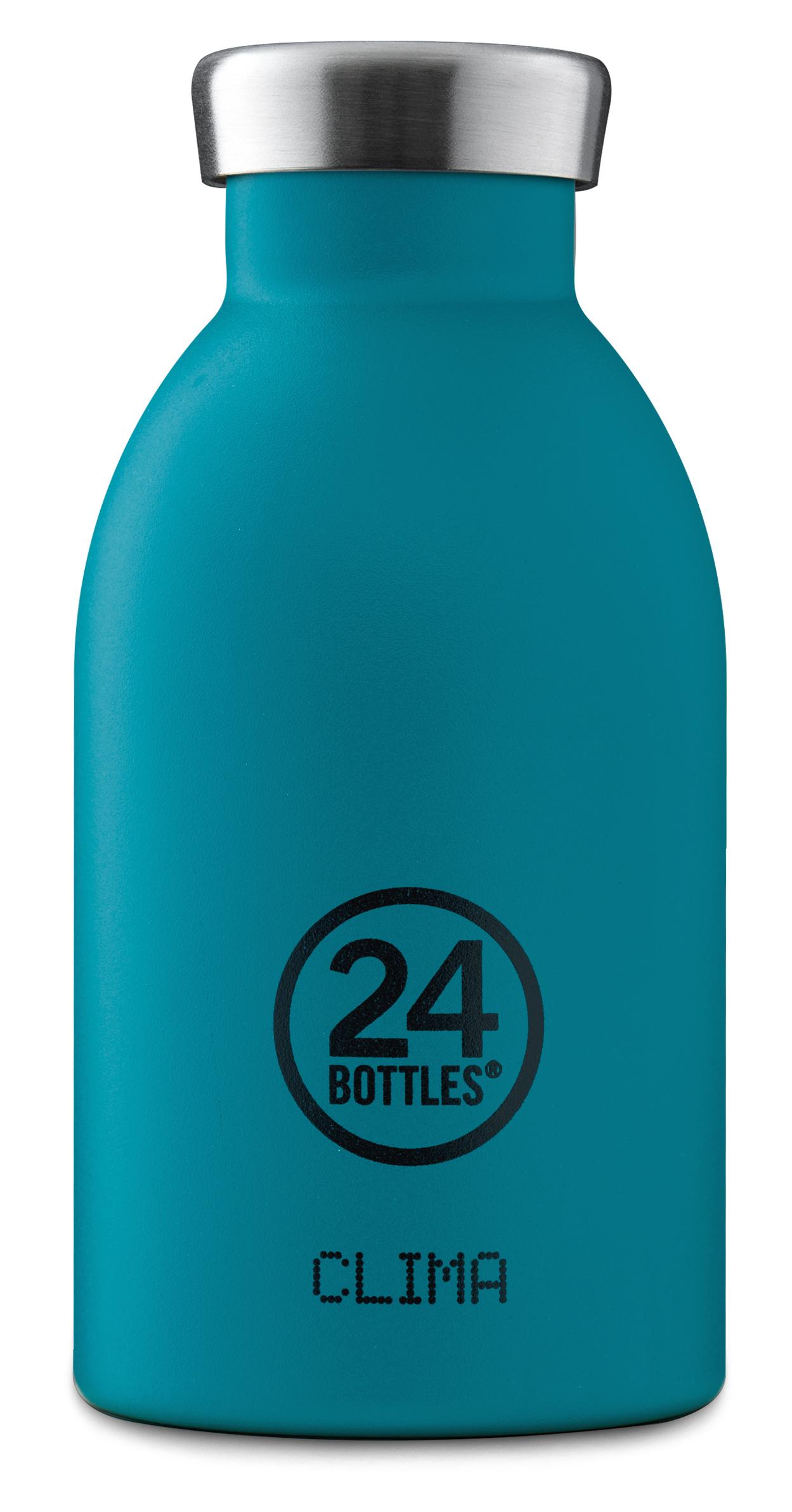 """®24bottles בקבוק """"קלימה"""" תרמי 330 מ""""ל – טורקיז"""