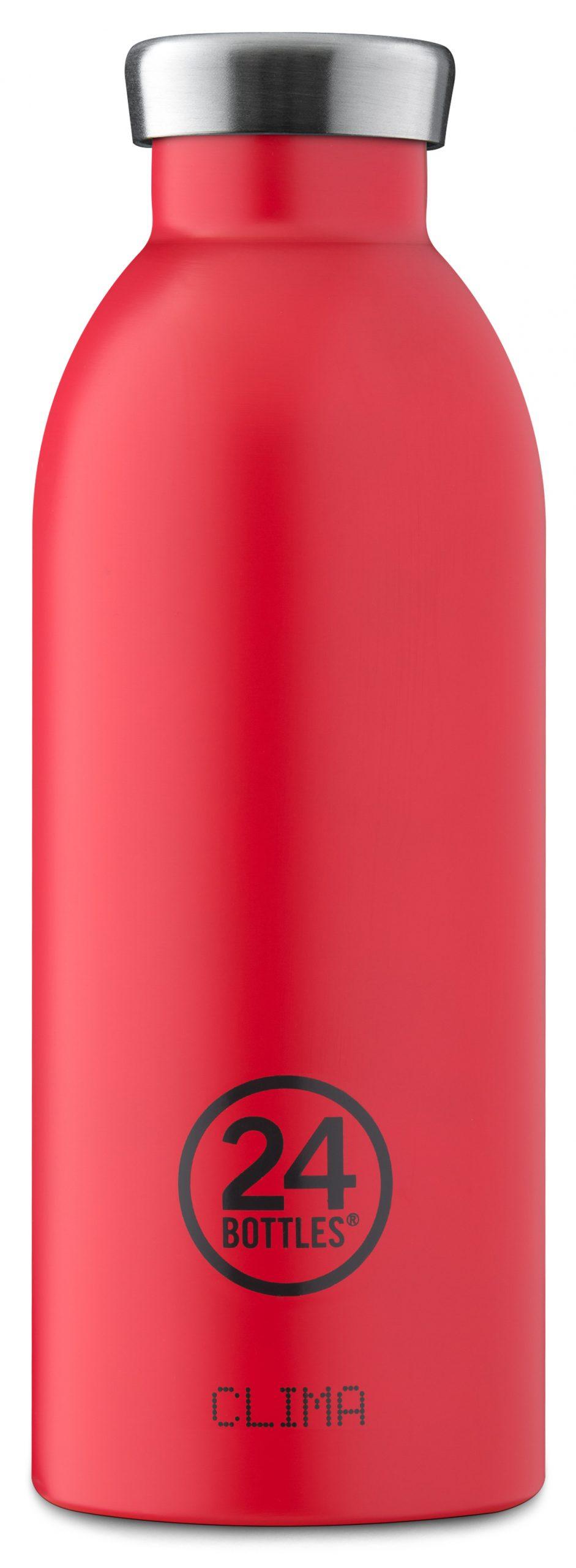 """®24bottles בקבוק """"קלימה"""" תרמי 500 מ""""ל – אדום לוהט"""