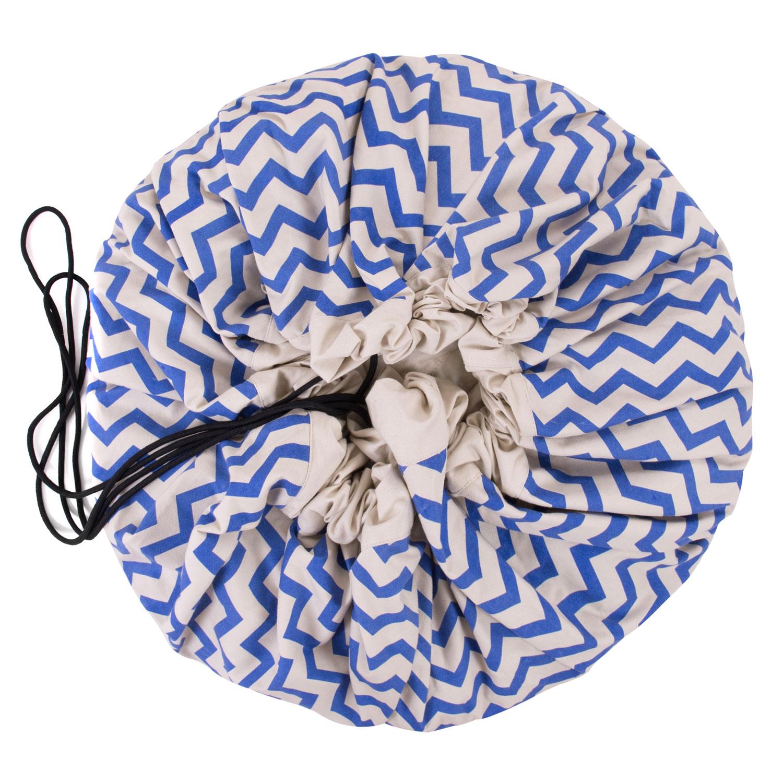 The Play&Go® Bag זיגזג כחול