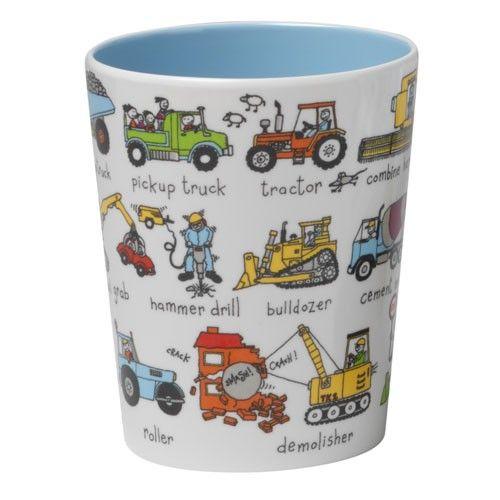 כוס פלסטיק – על גלגלים