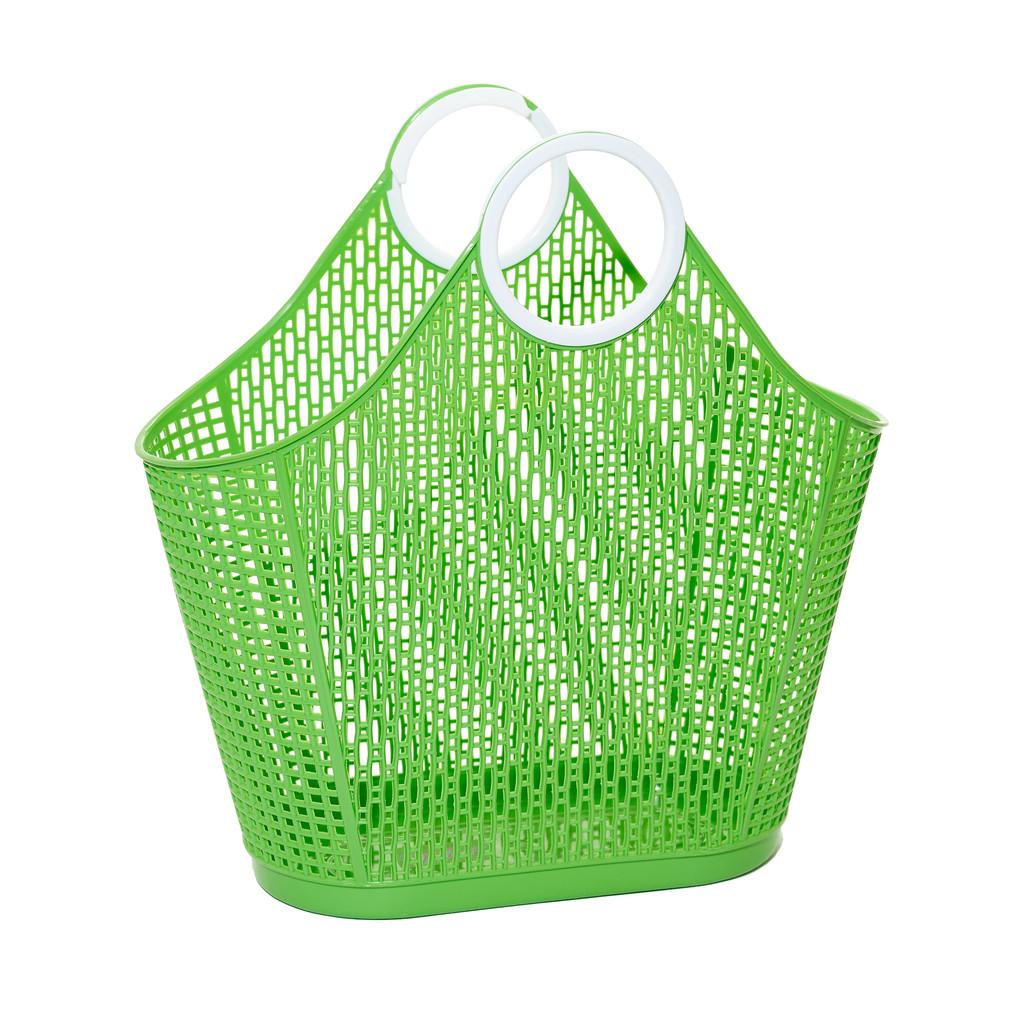 סל Sun Jellies חגיגת קניות בטעם של פעם – ירוק (גדול)