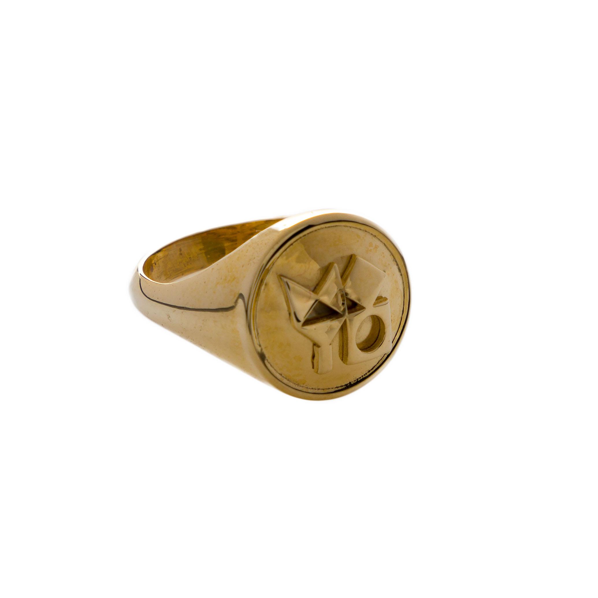 טבעת חותם המוזיאון – עיגול