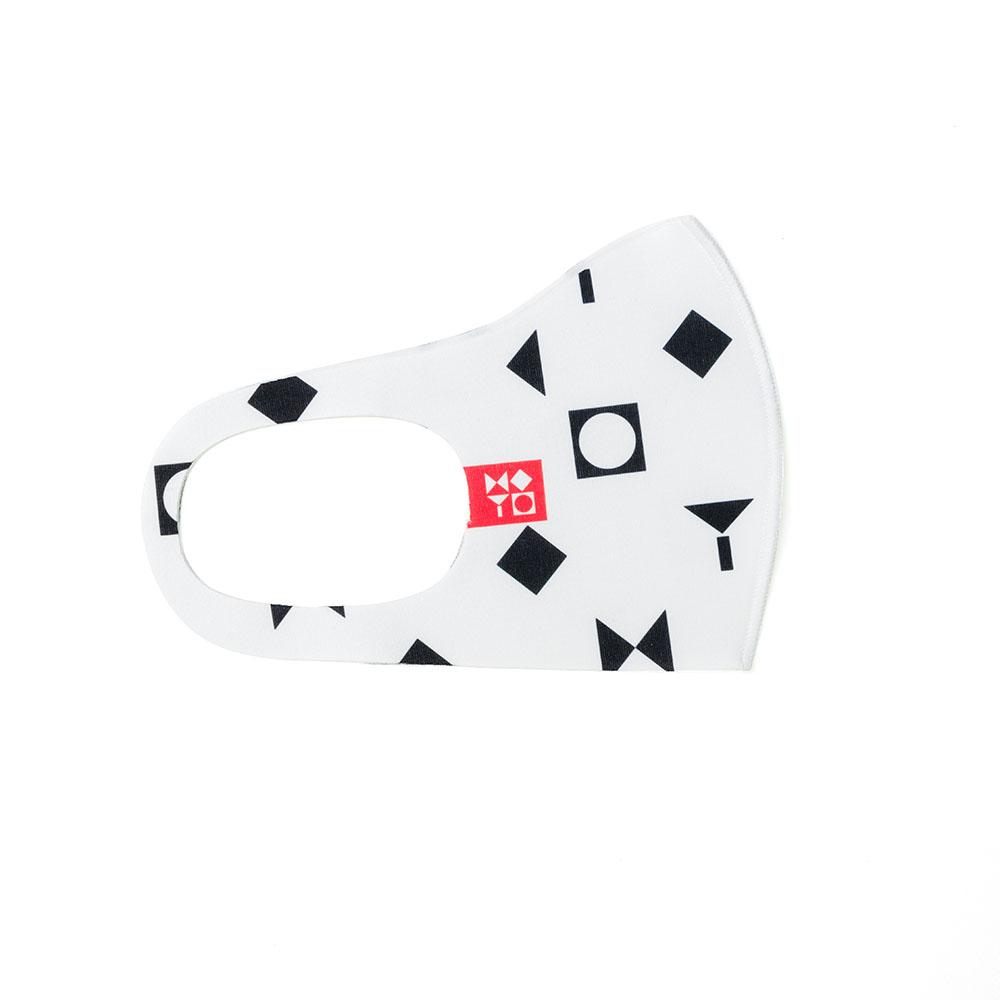 מסכת סמל המוזיאון – לבן