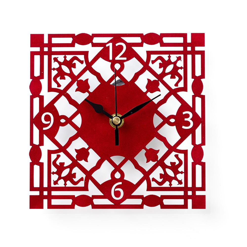 שעון קיר ממלוכי – אדום