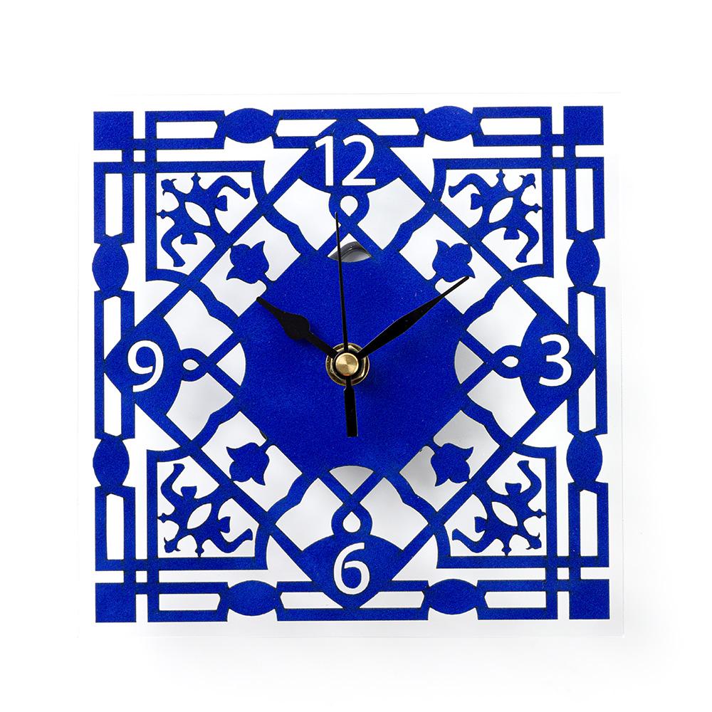 שעון קיר ממלוכי – כחול