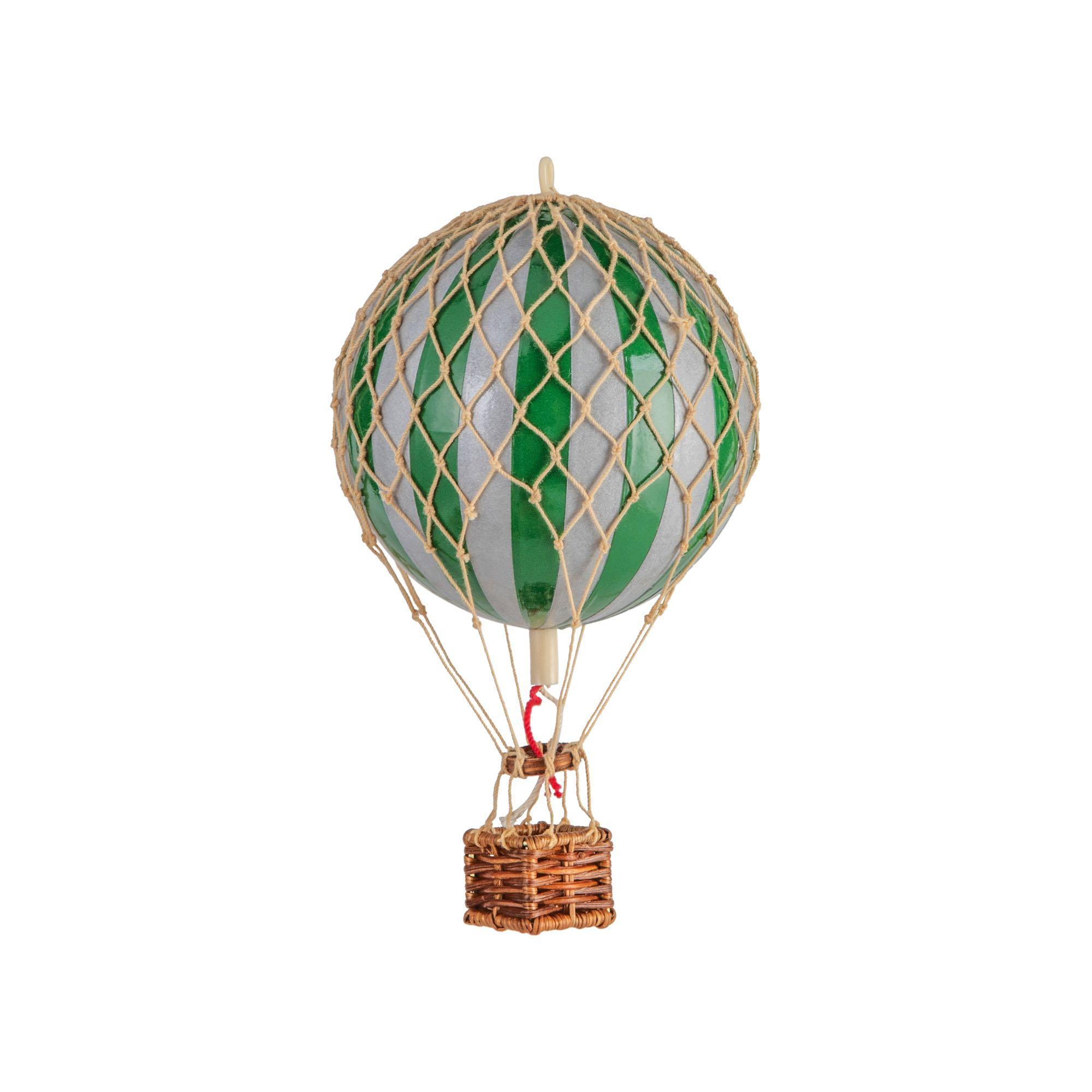 כדור פורח – ירוק וכסף