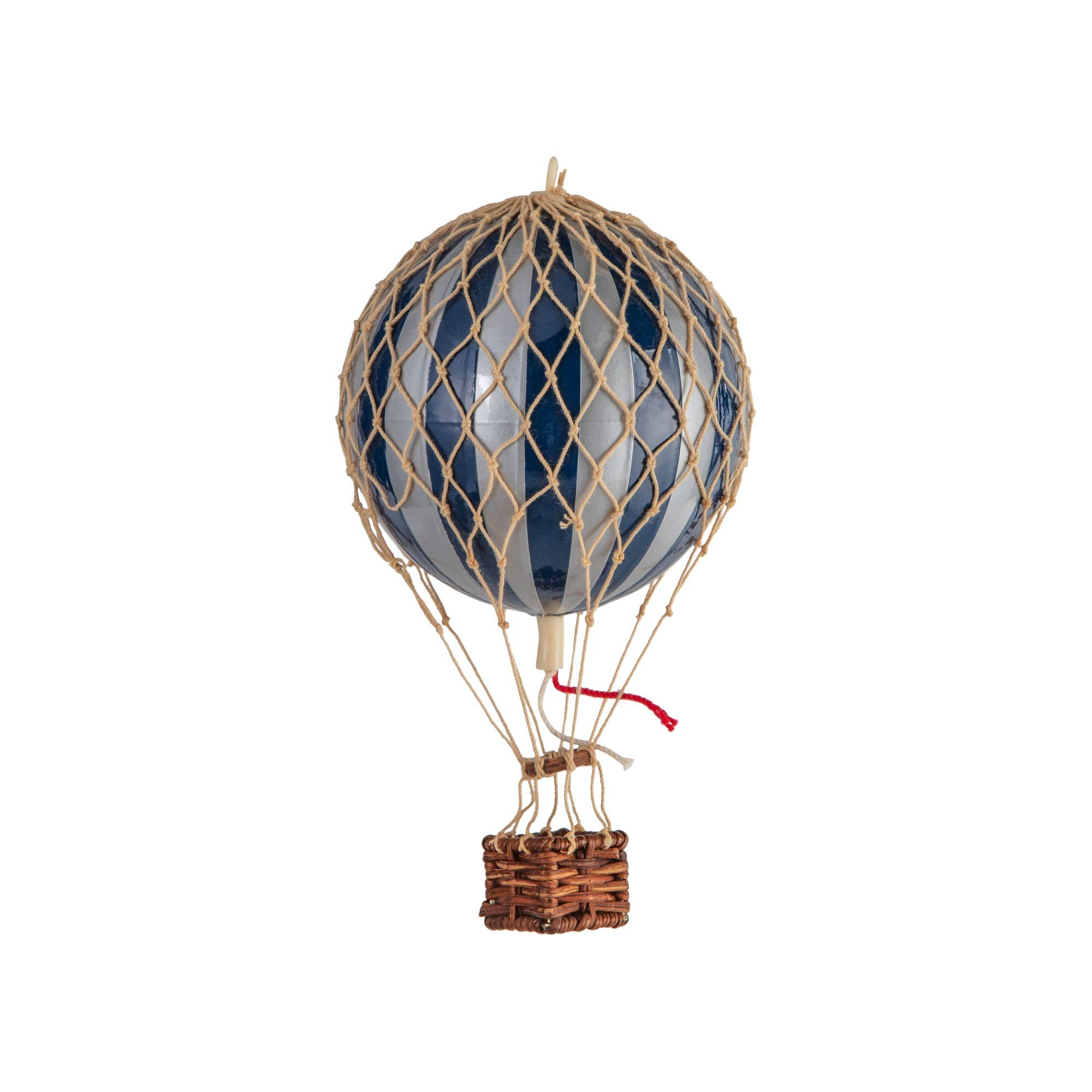 כדור פורח – כחול-נייבי וכסף