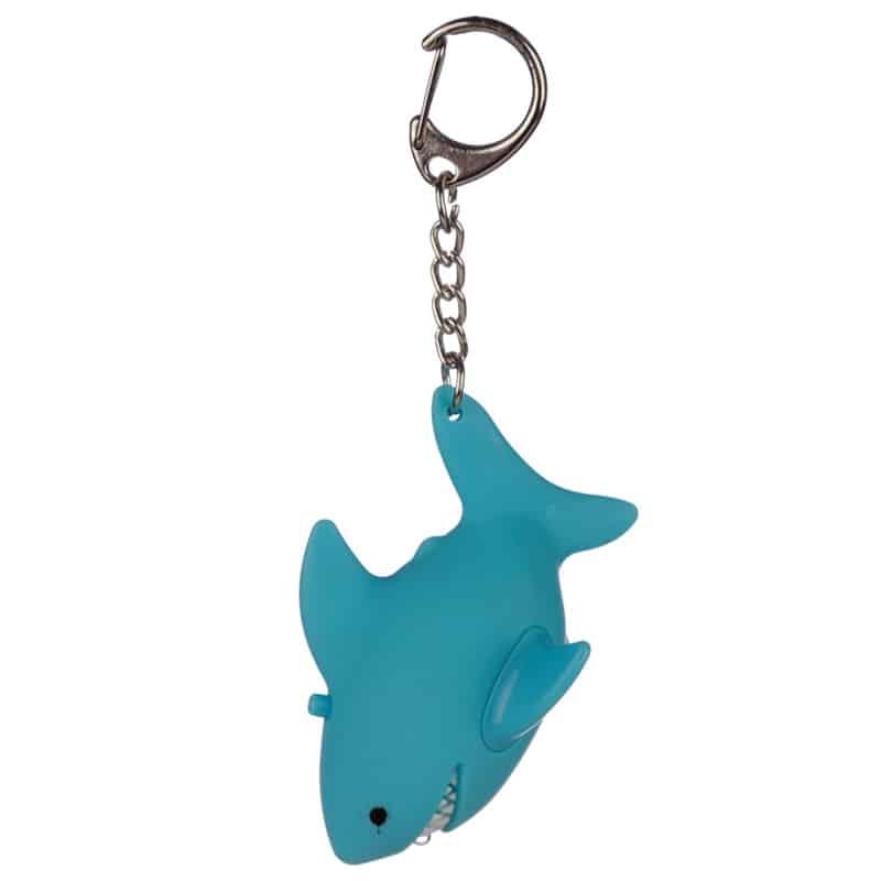 מחזיק מפתחות אור וצליל – כריש