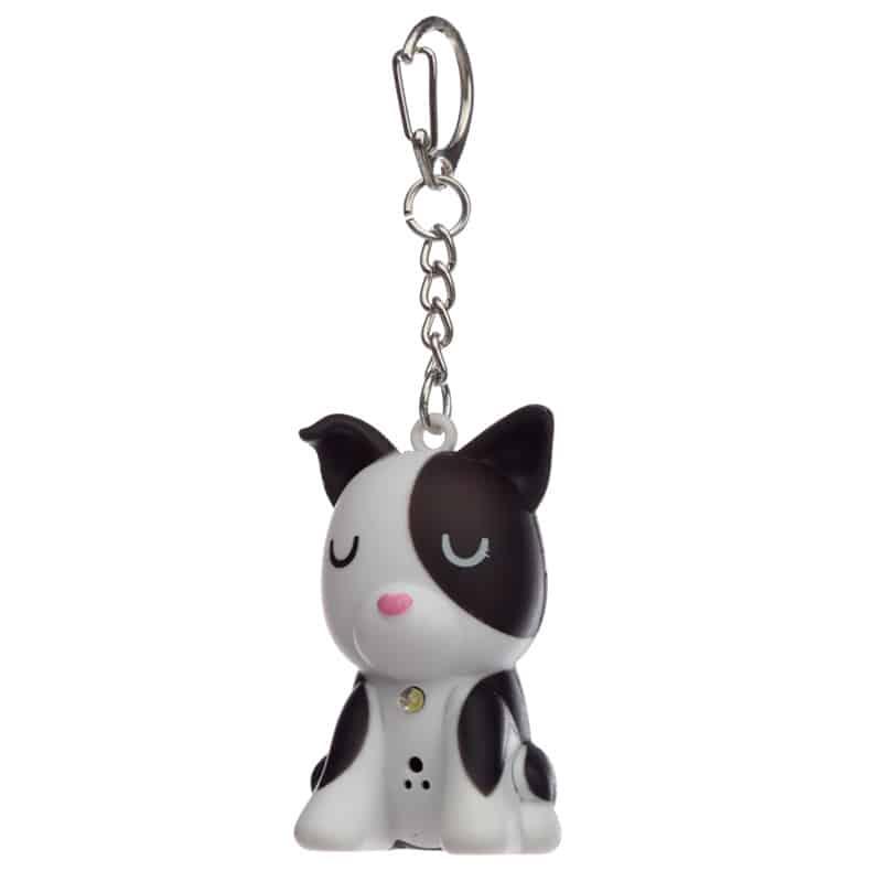 מחזיק מפתחות אור וצליל – כלב