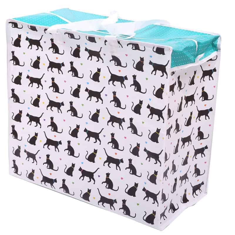 תיק אחסון עם רוכסן – חתולים