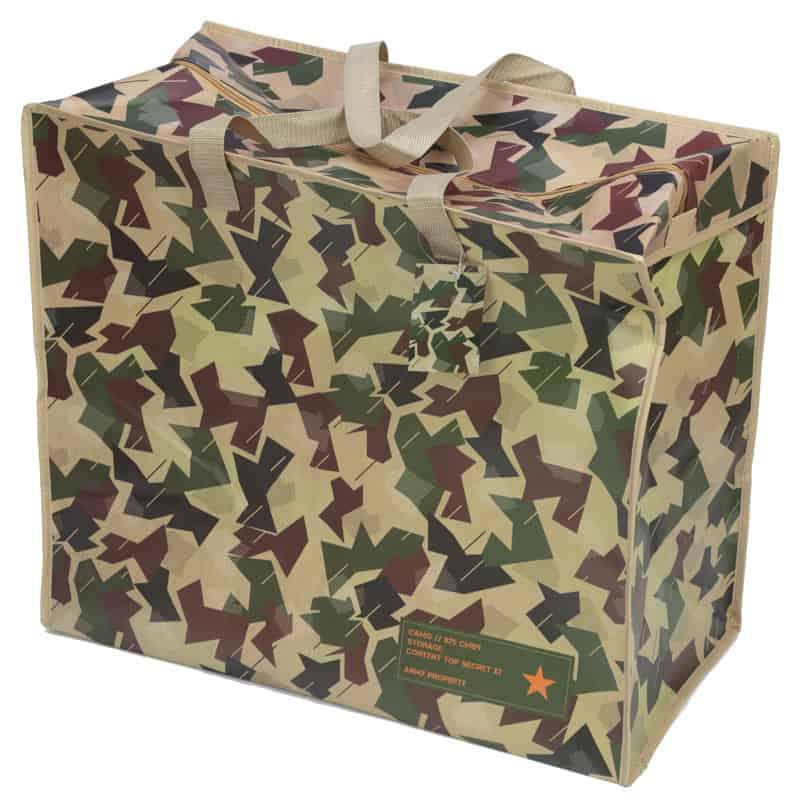 תיק אחסון עם רוכסן – צבעי הסוואה